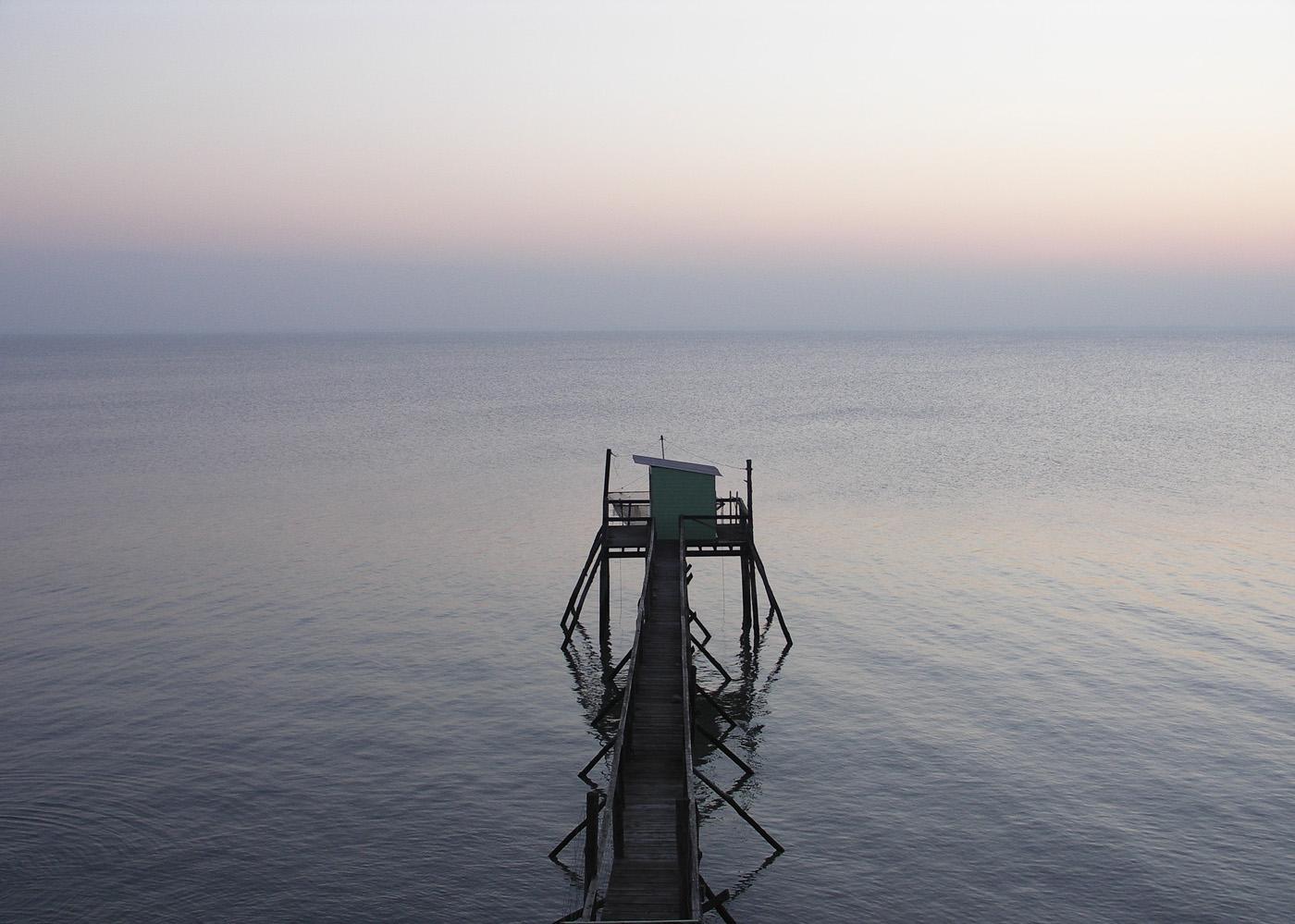 Carrelet - Port-des-Barques
